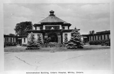 Administration Building, Ontario Hospital Whitby, c.1940