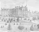 Ontario Ladies' College Exterior, 1877