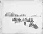 Tobogganing at the Ontario Ladies' College, 1893