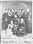 Students of the Ontario Ladies' College, April 1889