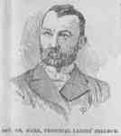 Rev. John James Hare, 1889