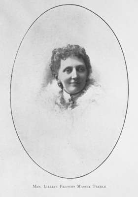 Lillian Frances Massey Treble, c.1895