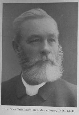 Rev. John Potts, 1906