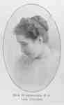 Miss Nettie Burkholder, 1906