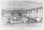 Dining Room in Frances Hall, 1906