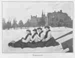 Tobogganing at Ontario Ladies' College, 1906