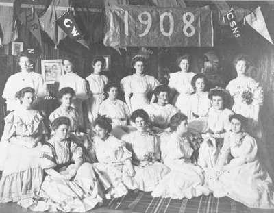 Ontario Ladies' College Students, February 1908
