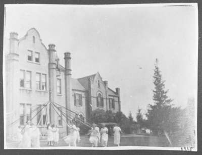 Ontario Ladies' College May Pole Dance, May 1915