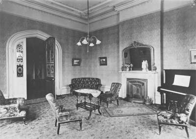 Ontario Ladies' College Reception Room, c.1925
