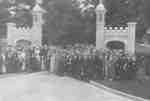 Dedication of Memorial Gates at the Ontario Ladies' College, June 11, 1924