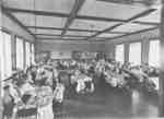 Ontario Ladies' College Dining Room, 1917