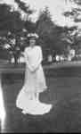 Marion Norton (May Queen) at Ontario Ladies' College, May 1925