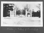 Ontario Ladies' College Gates, 1924