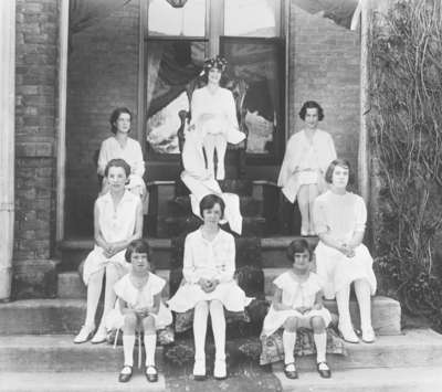 Ontario Ladies' College May Queen and Attendants