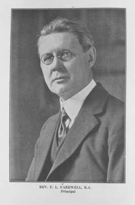 Rev. Francis Farewell (1873-1928), 1924