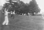 Playing Tennis at Ontario Ladies' College, July 1913