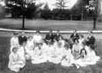 Outdoor Class at Ontario Ladies' College, July 1913