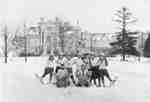 Snowshoeing at Ontario Ladies' College, c.1920