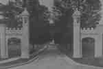 Gates at Ontario Ladies' College, c.1930