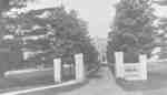 Entrance Gates, Ontario Ladies' College, c.1905