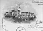Lithograph of Ontario Ladies' College, 1895