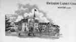 Lithograph of Ontario Ladies' College, 1897