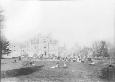 Front View of Ontario Ladies' College, c.1885