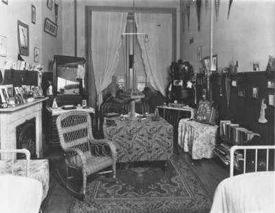 Student Room at Ontario Ladies' College, 1914