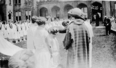 May Court Festival at Ontario Ladies' College, May 1924