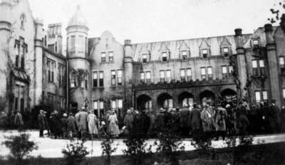 May Court Festival at Ontario Ladies' College, May 1925