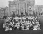 Group Photo of Delegates at Ontario Ladies' College, c.1908