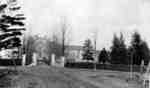 College Gates and Gilbert Street, 1917
