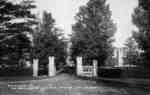 Ontario Ladies' College Gates, c.1918