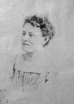 Mrs. John James Hare (Katherine Isabella McDowell) at Ontario Ladies' College, 1894