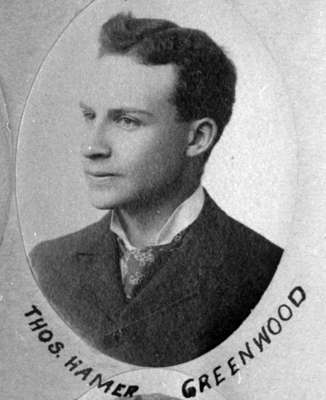 Portrait of Hamar Greenwood, 1892