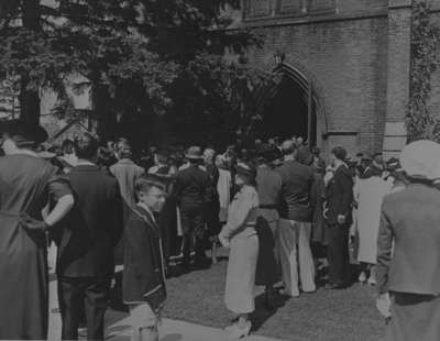 Greenwood Window Dedication, All Saints' Church, September 4, 1938