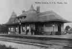 Whitby Junction Station, 1906&nbsp;