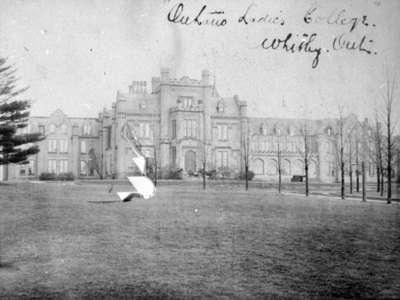 Front View of Ontario Ladies' College, c.1900