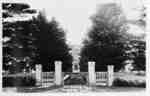 Ontario Ladies' College Gates, c.1920
