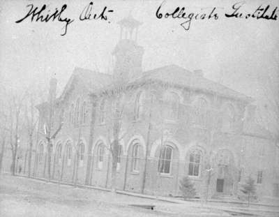 Whitby Collegiate Institute, c.1900