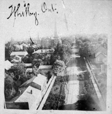 Whitby looking south from steeple of All Saints' Anglican Church, c.1900