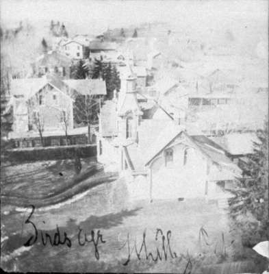 Whitby looking west from steeple of All Saints' Anglican Church, c.1900