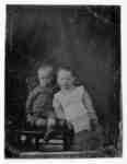 Portrait of two Unidentified Children