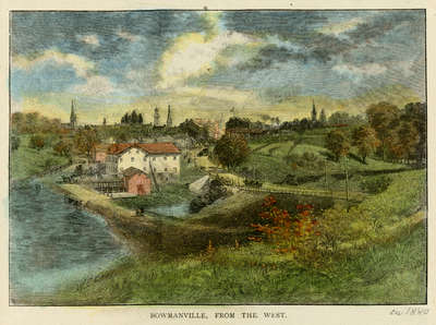 Bowmanville, From the West, c.1882