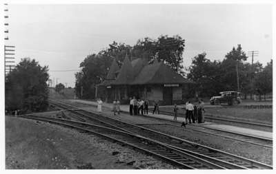 Whitby Junction Station, August 1935