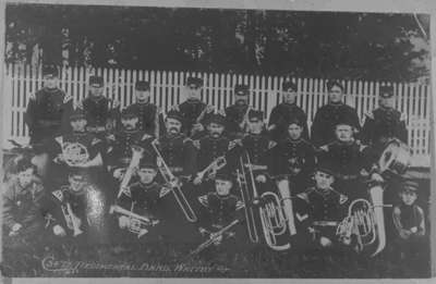 34th Regiment Band at Niagara-on-the-Lake Camp, June 14, 1905