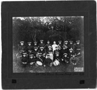 34th Regiment Band at Niagara-on-the-Lake Camp, June 1912