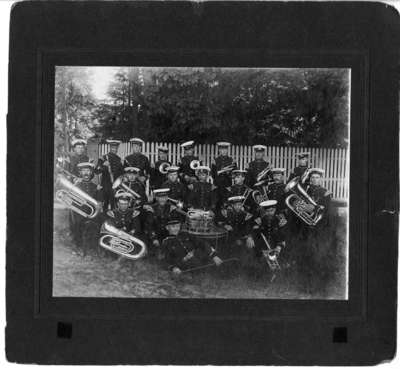 34th Regiment Band at Niagara-on-the-Lake Camp, June 1914