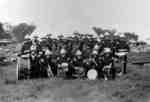 34th Regiment Band at Niagara-on-the-Lake Camp, June 1929