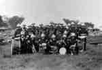 34th Regiment Band at Niagara-on-the-Lake Camp, June 1929